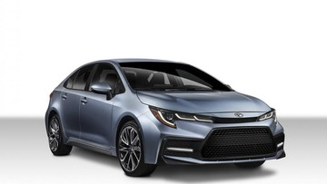Cận cảnh Toyota Corolla Sedan 2020 với thiết kế hầm hố hơn Corolla Altis 2019
