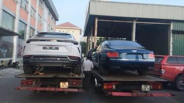 Siêu SUV Lamborghini Urus cùng Bentley Flying Spur V8 S Nam tiến, chuẩn bị ra mắt với giới truyền thông