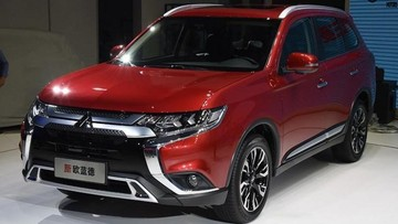 Mitsubishi Outlander 2019 chính thức ra mắt ở triển lãm Quảng Châu, giá từ 536-757 triệu Đồng