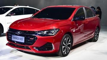 Chevrolet Monza RS diện lớp sơn đỏ bóng bẩy ra mắt ở triển lãm Quảng Châu 2018
