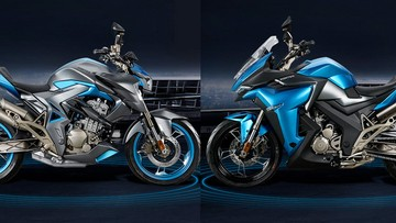 """Hãng xe Trung Quốc Zontes ra mắt 2 mẫu xe mới """"nhái"""" thiết kế của Kawasaki"""