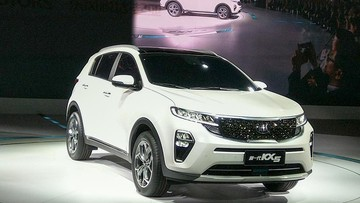Kia KX5 2019 được vén màn, đối đầu Honda CR-V và Hyundai Tucson