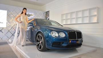 """Bentley Flying Spur V8 S về nước cùng với Lamborghini Urus của Minh """"Nhựa"""" đã chính thức ra mắt giới nhà giàu Việt"""