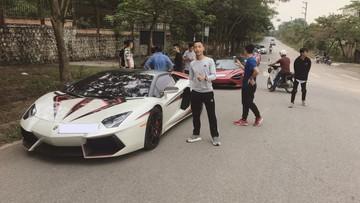 """McLaren 720S mà Cường """"Đô-la"""" từng """"xem mắt"""" di chuyển cùng đoàn siêu xe """"khủng"""" gây náo loạn tại huyện Sóc Sơn"""