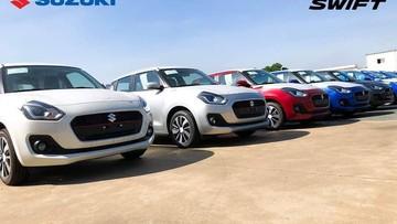 Lô xe Suzuki Swift 2018 đã về Việt Nam trước khi ra mắt vào đầu tháng sau