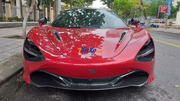 Siêu phẩm McLaren 720S màu đỏ Memphis độc nhất Việt Nam lần đầu xuất hiện trên đường phố Đà Nẵng