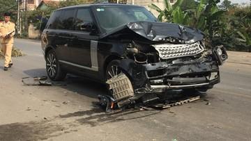 Thái Nguyên: SUV sang Range Rover đâm tử vong nữ hiệu trưởng đang đứng bên đường rồi bỏ chạy