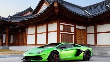 Siêu phẩm cực hiếm Lamborghini Aventador SVJ lần đầu tiên ra mắt tại quê hương của ông Park Hang Seo