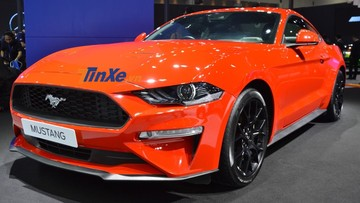 Bản nâng cấp Ford Mustang 2019 ra mắt tại Thái Lan, giá từ 2,55 tỷ đồng