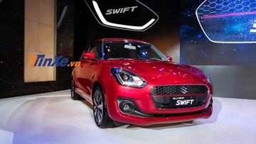 Suzuki Swift 2018 được nhập khẩu nguyên chiếc từ Thái Lan bị cắt trang bị gì khi về Việt Nam?
