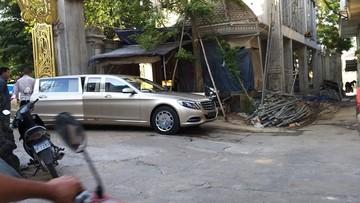 Không kém cạnh nhà giàu Việt, đại gia Campuchia cũng có siêu phẩm Mercedes-Maybach S600 Pullman