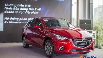 Biểu giá tính phí trước bạ của Mazda2 2018 không được áp theo giá niêm yết
