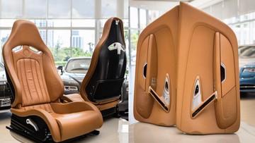 Nếu có 3,5 tỷ Đồng, bạn có thể mua được... bộ nội thất của Bugatti Veyron này
