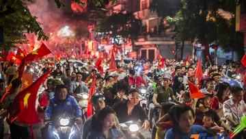 Việt Nam vào chung kết AFF Cup 2018, Hà Nội nhuộm sắc đỏ