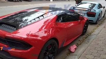"""""""Tóm gọn"""" Audi R8 V10 PLus và Lamborghini Huracan chuẩn bị tham dự lễ ăn hỏi của Cường """"Đô-la"""" tại Lạng Sơn"""