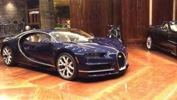 """Bugatti Chiron đầu tiên cập bến Campuchia, giới nhà giàu Việt """"phát hờn"""""""