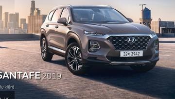 Hyundai Santa Fe 2019 cuối cùng cũng hẹn ngày ra mắt Việt Nam