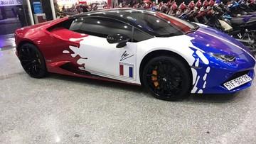 """Sau khi thay áo mới, siêu xe Lamborghini Huracan của ông chủ cửa hàng """"Su xì po"""" được thay """"móng"""""""