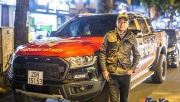 Diễn viên Hồng Đăng sẽ làm điều này với chiếc Ford Ranger Wildtrak sau trận chung kết AFF Việt Nam - Malaysia