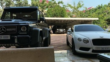 """""""Quái vật 6 chân"""" Mercedes-Benz G63 AMG 6x6 của đại gia Campuchia mang biển """"tứ quý"""" 8"""