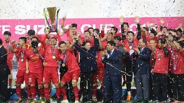 Vô địch AFF CUP, đội tuyển Việt Nam được THACO tặng 2 tỷ đồng, HLV Park Hang Seo được tặng 100.000 USD