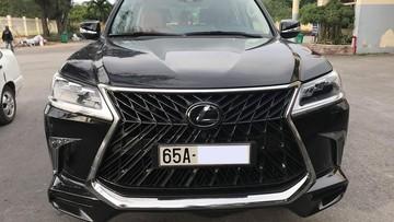 """""""Chuyên cơ mặt đất"""" Lexus LX570 Super Sport 2018 hơn 10 tỷ đồng của nhà giàu Cần Thơ"""