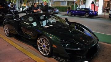 Siêu xe triệu đô McLaren Senna của đại gia ngành chăn đệm nổi bật trên đường phố Miami vào ban đêm