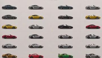 Chưa đến 5 phút để hiểu rõ sự khác biệt của mọi mẫu Porsche 911