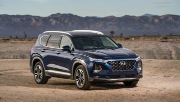 Hyundai Santa Fe 2019 có công nghệ mở cửa và khởi động bằng vân tay
