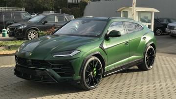 """Màu sơn xanh này của chiếc Lamborghini Urus rất hợp """"phong thuỷ"""" với Chủ tịch Trung Nguyên"""