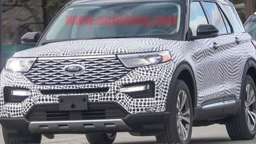 SUV cỡ lớn Ford Explorer 2020 sẽ chính thức trình làng vào tháng sau