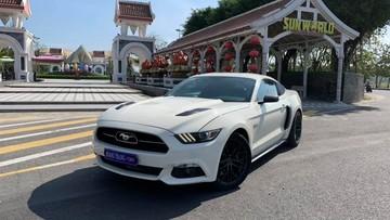 Sau tai nạn không may ở Đà Nẵng, hàng hiếm Ford Mustang GT 5.0 tái xuất với ngoại thất long lanh