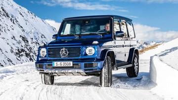 Mercedes-Benz vén màn G-Class phiên bản tiết kiệm nhiên liệu mới