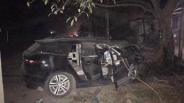 """Ô tô Trung Quốc Zotye Z8 gặp tai nạn """"nát đầu"""" ở Việt Nam, bung túi khí, người lái an toàn"""