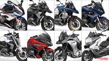"""Điểm danh 8 khuôn mặt nổi """"bần bật"""" trong dàn xe phân khối lớn mới 2019 của BMW Motorrad"""
