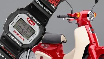 Hãng đồng hồ nổi tiếng thế giới Casio cho ra mắt G-Shock phiên bản kỉ niệm 60 năm Honda Super Cub cực đẹp