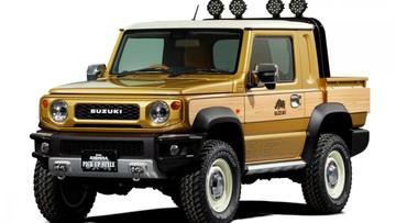 """Suzuki hé lộ phiên bản bán tải của SUV """"bé hạt tiêu"""" Jimny 2019"""