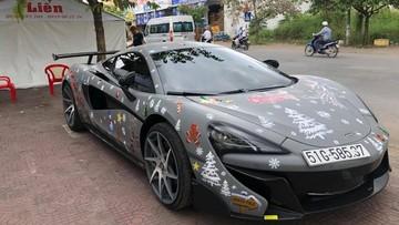 """""""Công tử"""" Bạc Liêu tậu siêu xe McLaren 570S độ độc nhất vô nhị tại Việt Nam"""