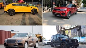 Vượt ải Nghị định 116, hàng chục xe SUV hạng sang đổ bộ về Việt Nam trong năm 2018