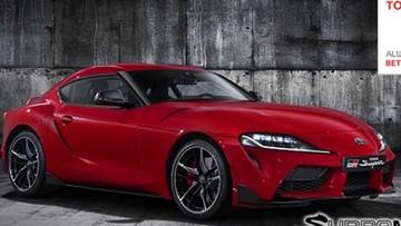 Toyota vô tình tung ra hình ảnh chính thức đầu tiên của Supra 2020
