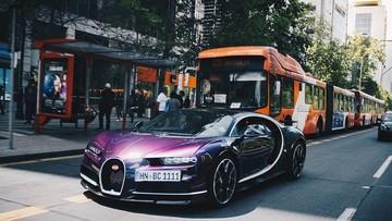 Bugatti Chiron của đại gia Chile này sẽ dành cho những ai yêu mến màu tím chung thuỷ