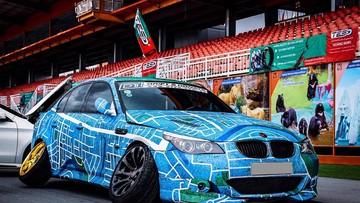 BMW M5 tại Sài thành mang gói độ cực quái của đất nước Nhật Bản
