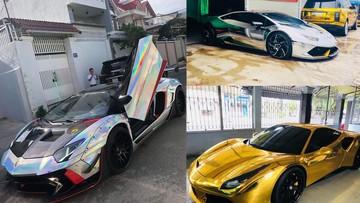 """Màu crôm chính là bộ áo """"hot"""" nhất trên các siêu xe và xe thể thao của đại gia Việt trong năm 2018"""