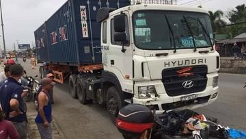 Tài xế lái xe container trong vụ tai nạn kinh hoàng ở Long An dương tính với Heroin và có nồng độ cồn cao