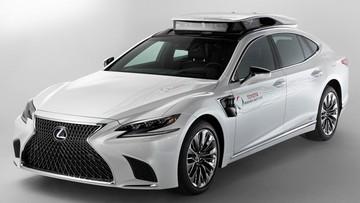 Toyota phát triển hai chế độ lái tự động mới bằng xe sang Lexus LS