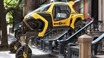 Hyundai Elevate - Phương tiện có thể đi tới mọi nơi nhờ bánh xe gắn vào chân rô bốt