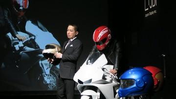 """Nhật Bản phát triển mẫu mũ bảo hiểm thông minh với khả năng hiển thị cực """"đỉnh"""""""