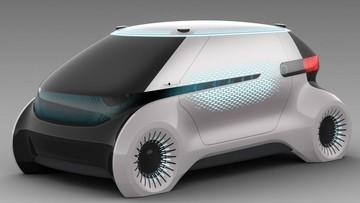 Hyundai Mobis ra mắt mẫu xe tương lai có hệ thống ánh sáng giao tiếp được với người đi bộ