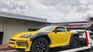 Bất ngờ với chiếc Lamborghini Urus bán tải do sinh viên đại học chế tạo