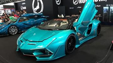 """Chiếc Lamborghini Aventador Roadster này được coi là xe """"điên rồ"""" nhất tại Tokyo Auto Salon 2019"""